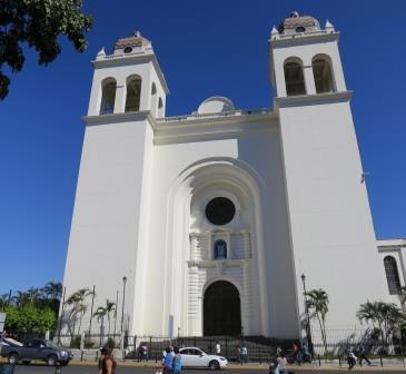Cathedral in San Salvador