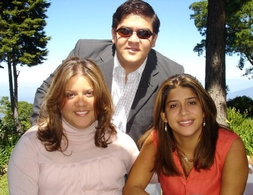 Claudia, Monica, and Gerardo
